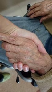 100歳の手