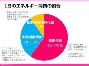 エネルギー消費のグラフ