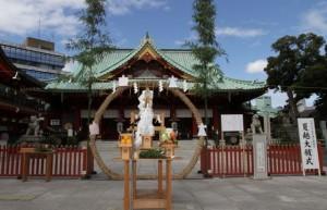 神田神社夏越の祓
